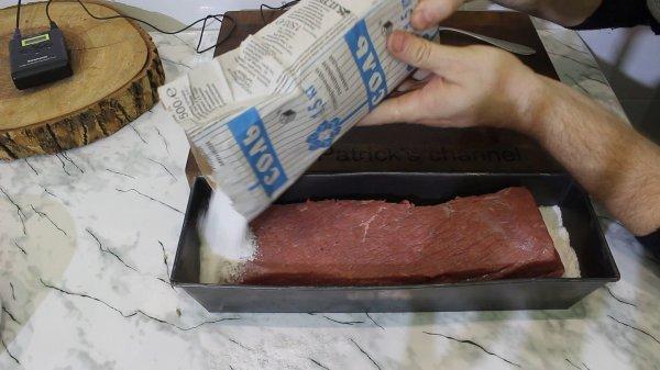 Вяленая чесночная говядина