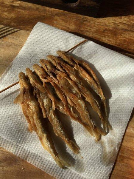 Рецепт сезонного блюда: Корюшка жареная