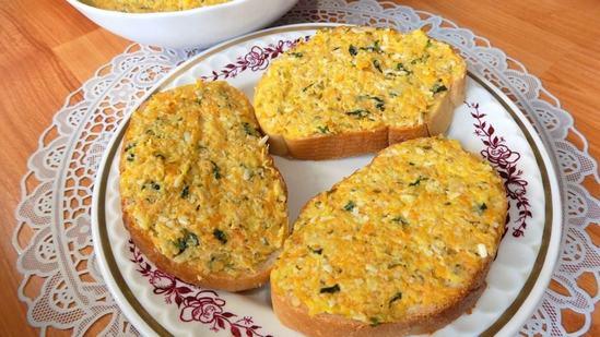 Овощная начинка для бутербродов, блинов и пирогов