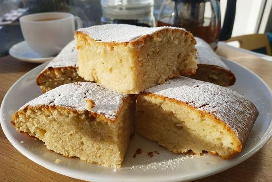 Итальянский лимонный пирог. (Фоторецепт)