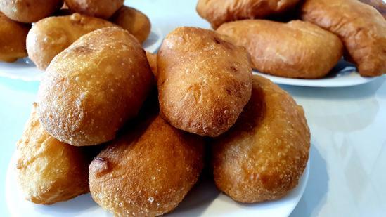 Пышные хрустящие пирожки с картошкой