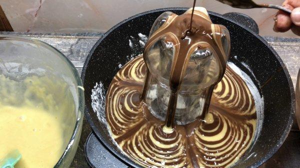 Десерт с бутылкой. (Фоторецепт)